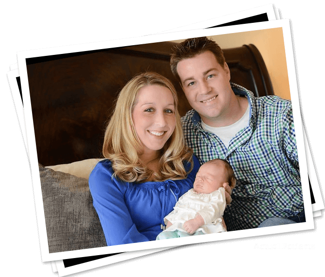 Mother father and child with healthy smiles thanks to family dentistry