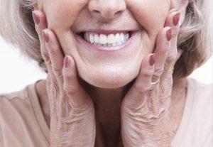 older lady smile